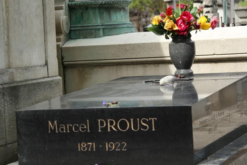 Marcel Proust grave