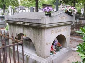 Sarah Bernhardt grave