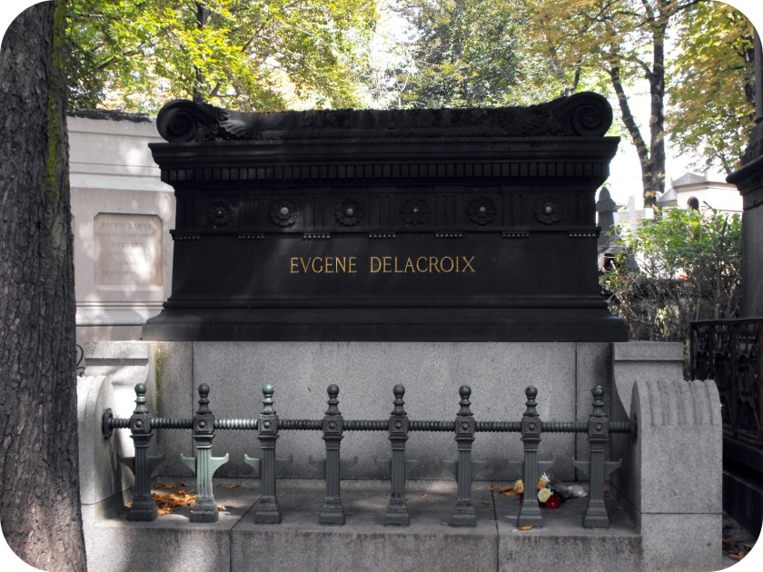Delacoix Eugene grave 1798-1863 49 DIV