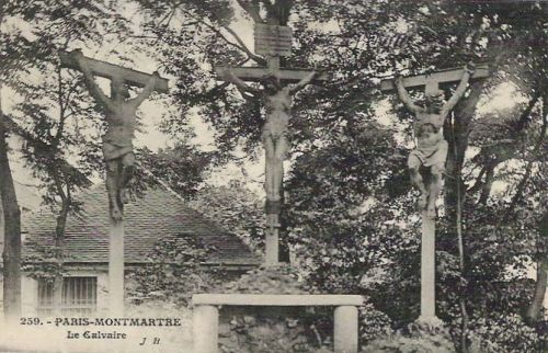 IL CIMITERO DEL CALVARIO  (CALVARY CEMETERY) MONTMARTRE