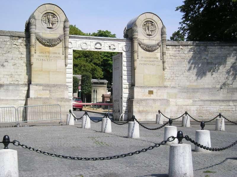 Entrata principale Pere Lachaise