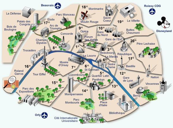Parigi Cartina Metro.Parigi Mappe Pazzi Per Parigi