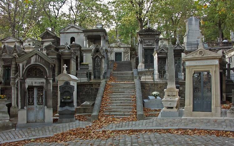 Il cimitero dei famosi